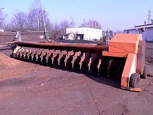 Přihrnovací šnekový dopravník PŠD 1000 na biomasu